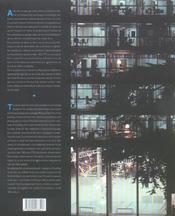 Paris architecture 1900-2000 - 4ème de couverture - Format classique