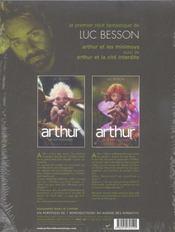Arthur ; coffret t.1 et t.2 - 4ème de couverture - Format classique