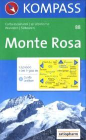 Monte Rosa - Couverture - Format classique