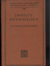 Insect Physiology - Couverture - Format classique