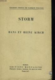 Hans Et Heinz Kirch - Couverture - Format classique