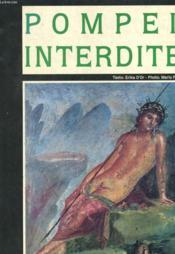 Pompei Interdite - Couverture - Format classique