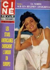 Cine Revue - Tele-Programmes - 61e Annee - N° 25 - Escape Frond New York - Couverture - Format classique
