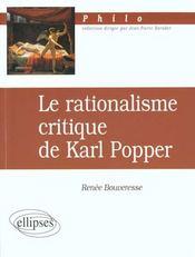 Le Rationnalisme Critique De Karl Popper - Intérieur - Format classique