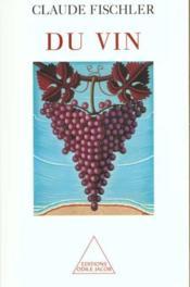 Du vin - Couverture - Format classique
