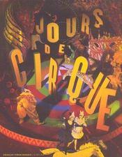 Jours de cirque - Intérieur - Format classique