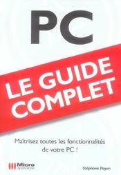 Pc - Intérieur - Format classique