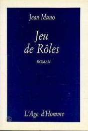 Jeu De Roles - Couverture - Format classique