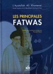 Les principales fatwas - Couverture - Format classique