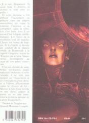 Traquemort t.3 ; la guerre - 4ème de couverture - Format classique
