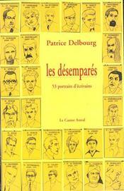Les Desempares - 53 Portraits D'Ecrivains - Intérieur - Format classique