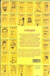 Les Desempares - 53 Portraits D'Ecrivains - 4ème de couverture - Format classique