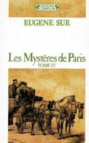 Les mystères de Paris t.4 - Couverture - Format classique