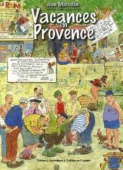 Vacances en Provence - Couverture - Format classique