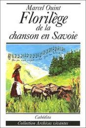 Florilège de la chanson en Savoie - Couverture - Format classique