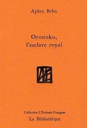 Oronoko, l'esclave royal - Intérieur - Format classique