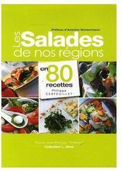 Les salades de nos terroirs - Couverture - Format classique