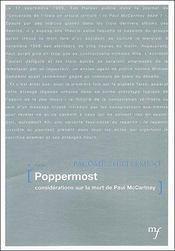 Poppermost - Couverture - Format classique