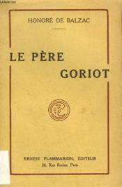 Le Pere Goriot. - Couverture - Format classique