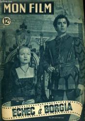 Mon Film N° 199 - Echec A Borgia - Couverture - Format classique