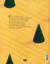 Choupinet 1er - 4ème de couverture - Format classique