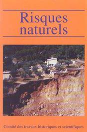 Risques Naturels - Intérieur - Format classique