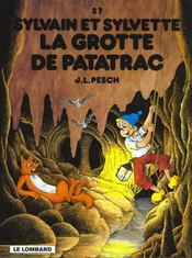 Sylvain et Sylvette t.37 ; la grotte de Patatrac - Intérieur - Format classique