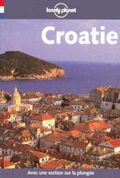 Croatie ; 1e Edition - Intérieur - Format classique