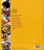 Cuisinez Zen - 4ème de couverture - Format classique