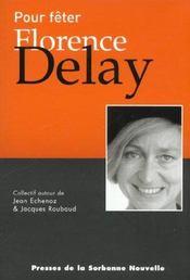 Pour Feter Florence Delay - Intérieur - Format classique