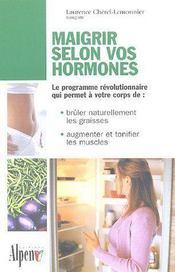 Maigrir selon vos hormones - Intérieur - Format classique