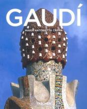 Gaudí - Couverture - Format classique