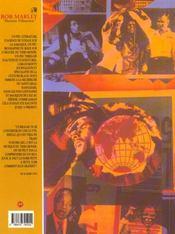 Bob marley - 4ème de couverture - Format classique