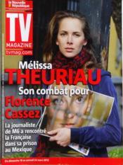 Tv Magazine La Nouvelle Republique N°20497 du 17/03/2012 - Couverture - Format classique