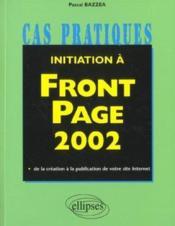 Initiation A Front Page 2002 - Couverture - Format classique
