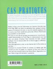 Initiation A Front Page 2002 - 4ème de couverture - Format classique