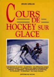 Cours De Hockey Sur Glace - Couverture - Format classique