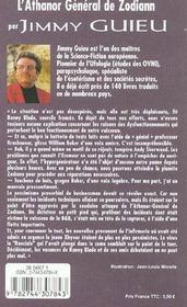 L'Athanor General De Zodiann - 4ème de couverture - Format classique