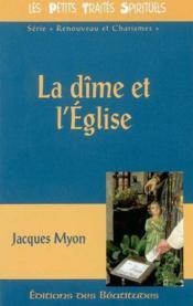 Dime Et L'Eglise (La ) - Couverture - Format classique