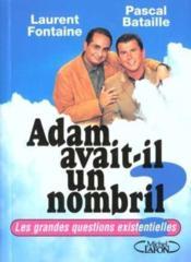 Adam Avait-Il Un Nombril - Couverture - Format classique