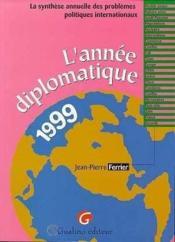Annee diplomatique 1999 - Couverture - Format classique
