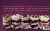 Craquez Pour ; Le Tiramisu ! 30 Recettes Inédites De Votre Dessert Préféré - 4ème de couverture - Format classique