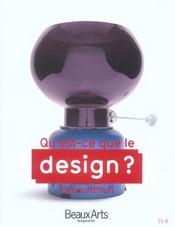 Qu'est-ce que le design ? - Intérieur - Format classique