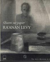 Ra'anan levy - oeuvres sur papier - Couverture - Format classique