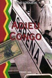 Adieu Congo - Couverture - Format classique