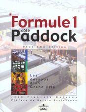 Formule 1 Cote Paddock ; 2e Edition - Intérieur - Format classique