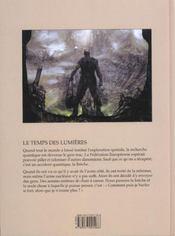 Le temps des lumieres - 4ème de couverture - Format classique