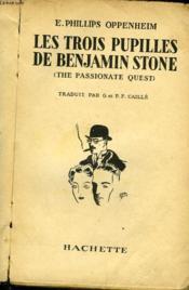 Les Trois Pupilles De Benjamin Stone - The Passionate Quest - Couverture - Format classique