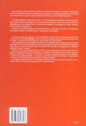 S.O.S. Du Jardinier - 4ème de couverture - Format classique