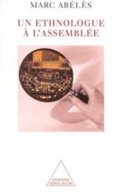 Un Ethnologue A L'Assemblee - Couverture - Format classique